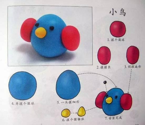 幼儿园橡皮泥手工制作,含步骤!| 巧手教育