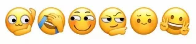 自苹果公司发布的ios 5输入法中加入了emoji后,这种表情符号开始席卷图片