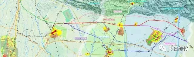 """我市积极争取成彭什绵高铁项目并取得支持,此项目已被确定为 """"德阳市图片"""