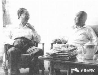 王震在新疆_1960年夏天,王震部长来新疆视察,让艾青陪同下农场,走工厂,尤 其是到