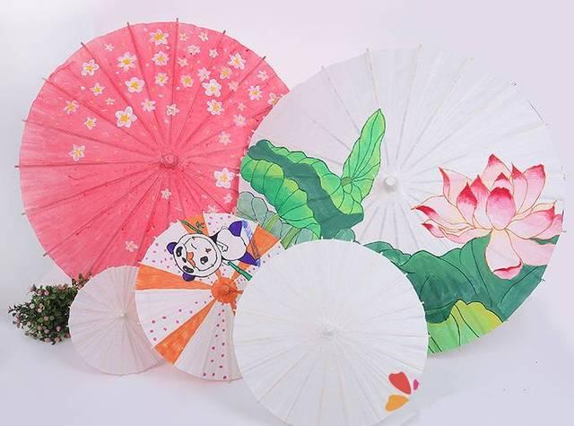 福利丨手绘油纸伞 手工创意卡通笔筒,周末亲子趴免费来玩!