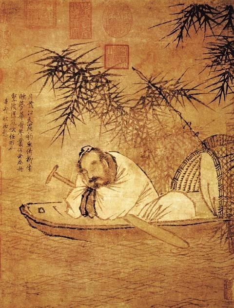 超萌系的古风熊猫滚滚,带你去看中国古代名画!