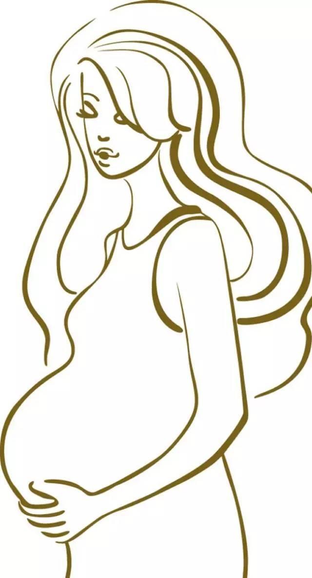 孕妇简笔画图片_孕妇儿童绘画图集