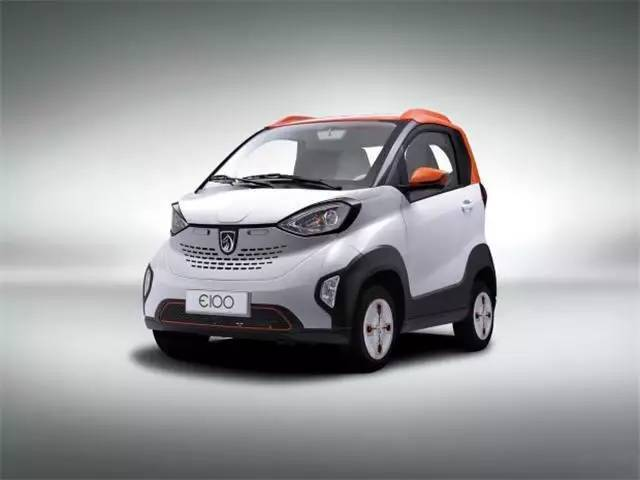 似smart的宝骏E100,仅在柳州销售,三万元就能带回家高清图片