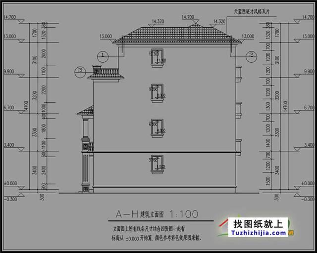 105平房屋四层展区产品设计图,设计合理农村复式中药图片