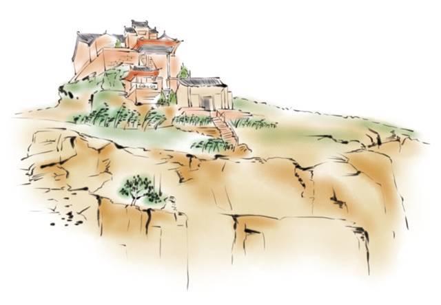 25张手绘图:速览神木美食美景