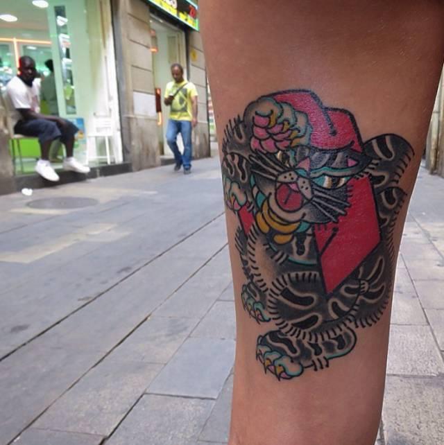文身丨不知道在哪里找「纹身图案」?可以 follow 这五位亚洲文身师图片