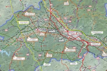 天台交通规划图