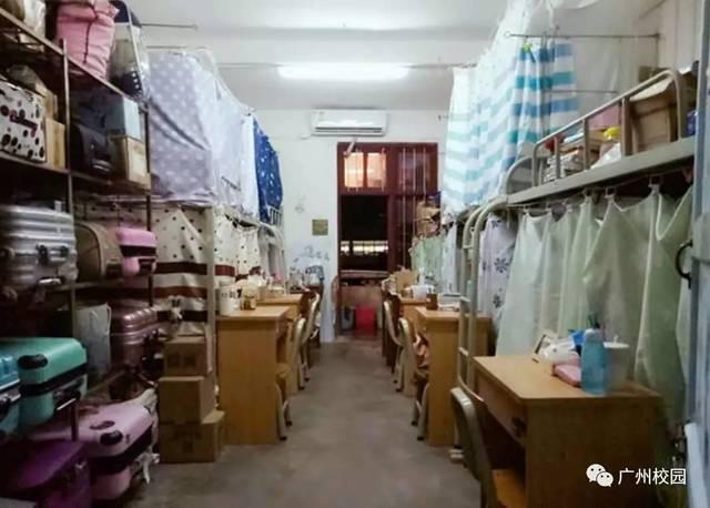 广东宿舍条件最差的十所大学校区!图片