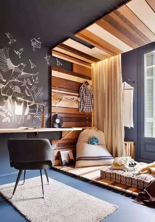 民宿创意:你家需要一块黑板墙!图片