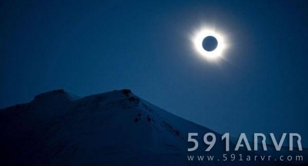 首次全程360°直播天文现象!CNN360度VR直播日全食