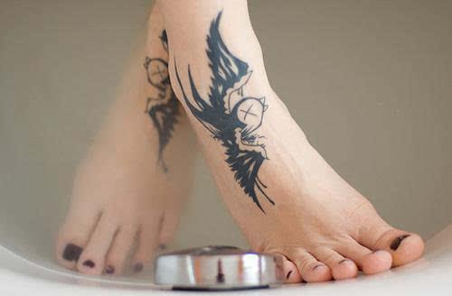 女神与女汉子的纹身图案大全图片