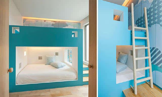 12个一房多床经典装修案例图片