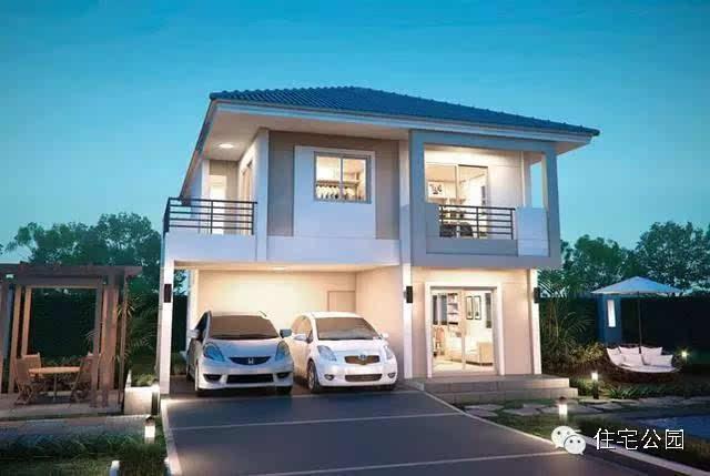 新车库自建房9米X11米带双农村含平面图-焦泸州设计图绿韵图片