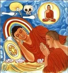 过目增福:历代流传的佛陀涅盘图图片