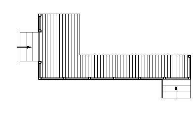cad长廊平面图的绘制
