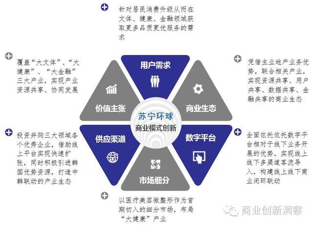 一张图读懂苏宁环球商业模式创新图片