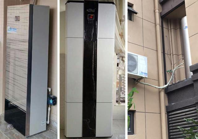 为什么空气能热水器比太阳能省心?看安装位置图片
