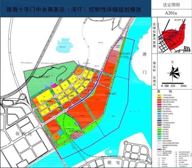 中央十字门_十字门中央商务区控制性详细规划