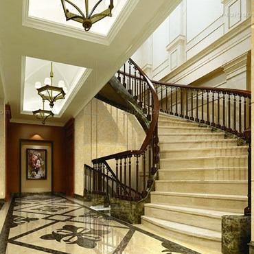 楼梯什么材质好 室内楼梯款式有哪些?图片