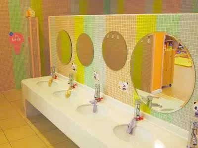 【园长篇】极具创意的幼儿园洗手间