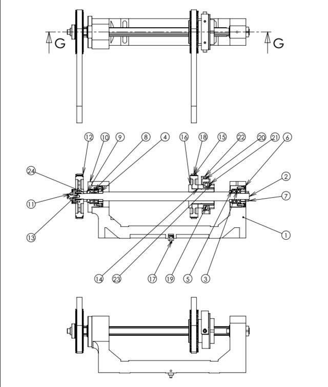 走心机的同步导套结构图解