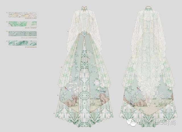 【眨眼明星设计师】走上纽约时装周的洛丽塔时装品牌souffle song图片