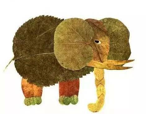 就是明天 日本文化亲子沙龙之树叶拼贴画