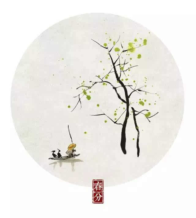 岭南长夏无冬,中大有位小林老师画出了二十四节气图片