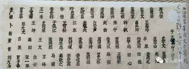 1980年和老首长,老战友李运昌,李楚离,张明远,曾克林,王文,曹致福,贾
