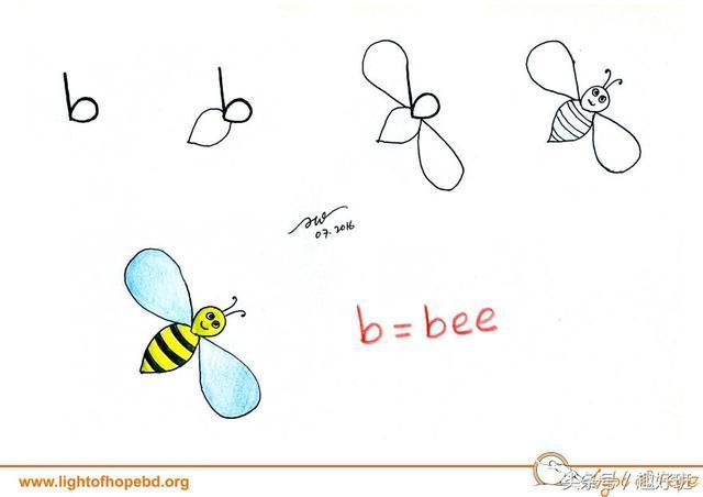让字母秒变小动物 超萌又实用的字母简笔画教程!