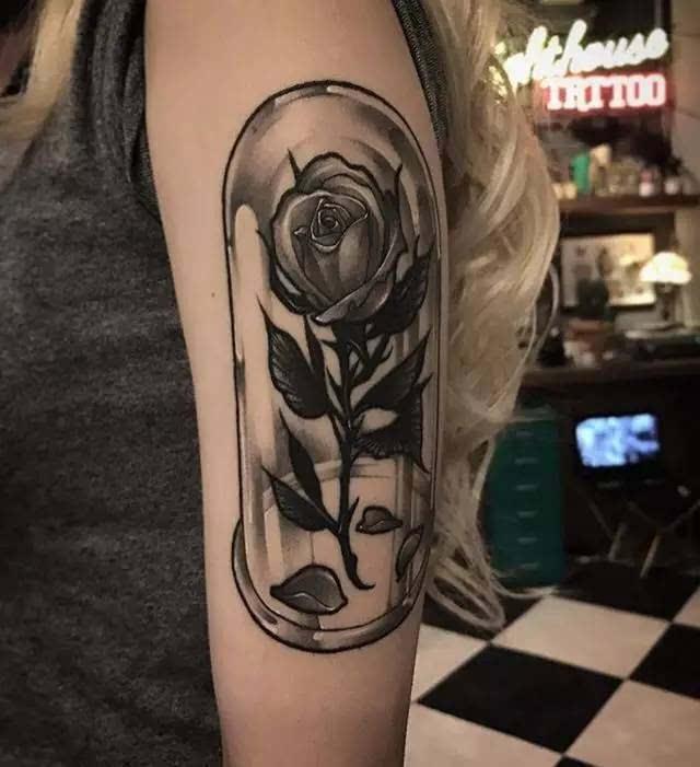 纹身素材 | 韩国纹身师gara 暗黑系 黑灰写实 骷髅纹身图片