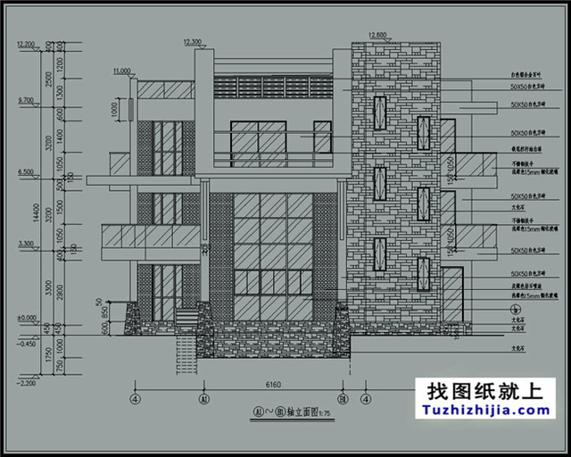 最新精选现代三层钢结构别墅设计图及效果图