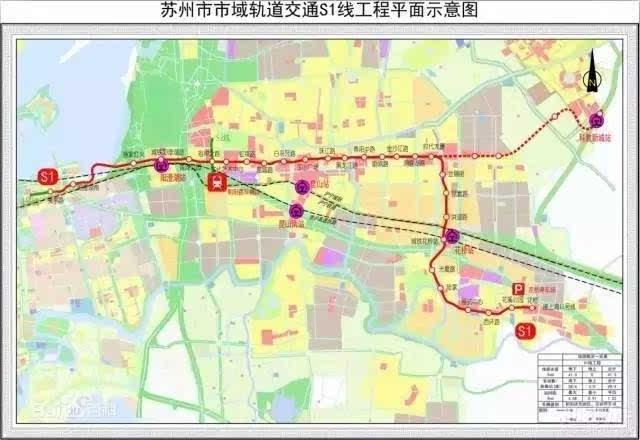 权威 S1号线有最新消息 独墅湖第二隧道启动建设.....2017年的苏州将大...图片 44392 640x440