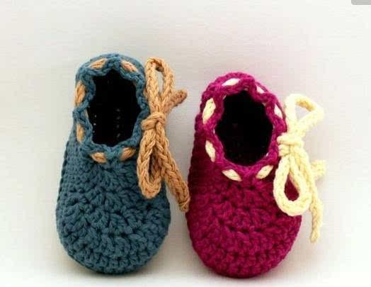 用一双亲手编织的宝宝鞋来传达对宝宝的爱吧 下面这些可爱到爆炸的鞋