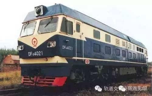 东风4ck型内燃机车