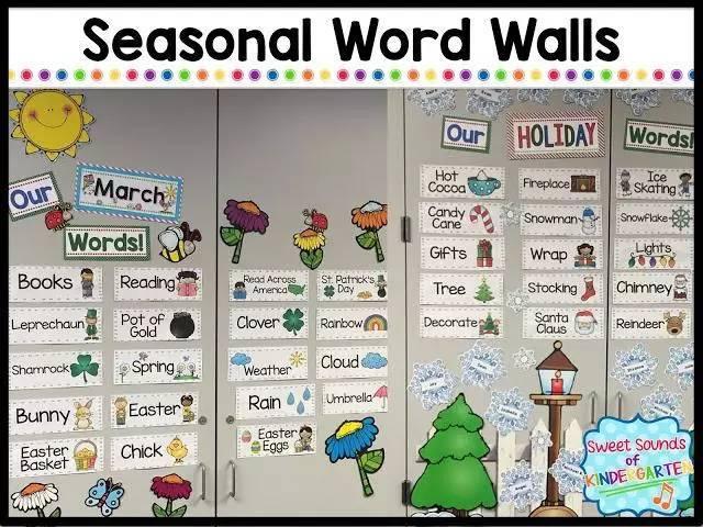 easter复活节等等;秋天和冬天的单词有:decorate装饰,reindeer驯鹿图片