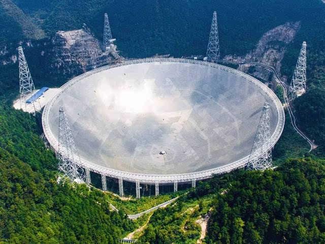 """全球最大口径球面射电望远镜""""天眼""""启用"""