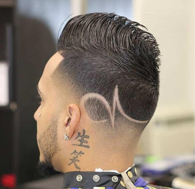 【完美刀工-雕刻发型-线条创意】图片