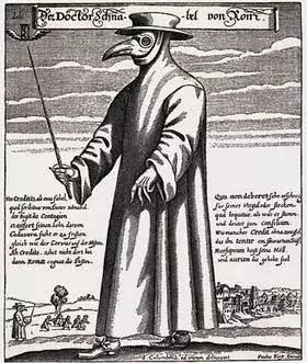 欧洲中世纪黑死病盛行期间,谁去当了黑死病医生,谁家就要准备后事