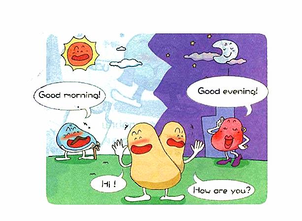 超简单 一看就会!亲子互动实用英语:晨起打招呼图片