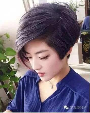 女生,应该选择哪些短发发型才会更漂亮,更时尚,更显嫩更减龄一些?