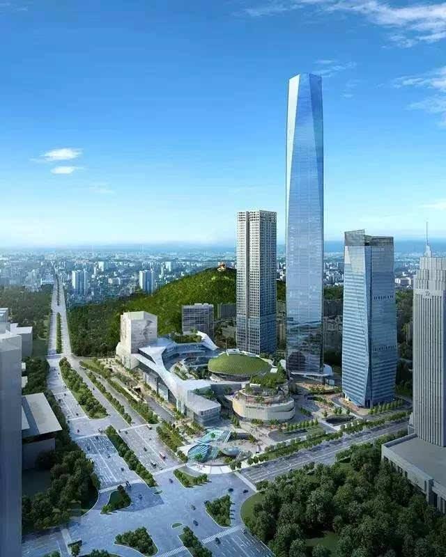 城市| 又见东莞高楼起,538米的新地标建筑就要启动啦!