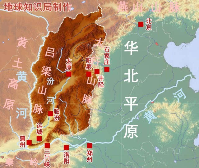 山西与华北平原