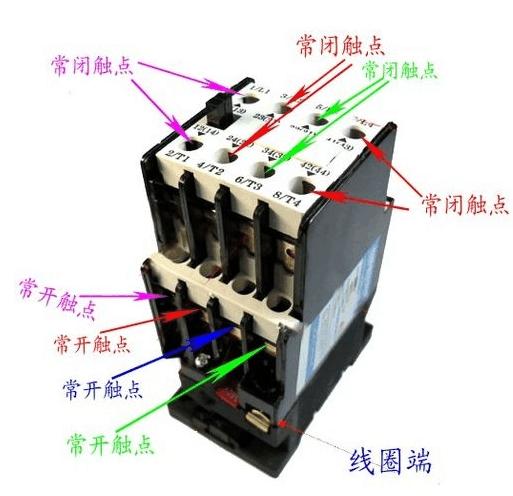 接触器的分类及选择,接触器的接线大全!