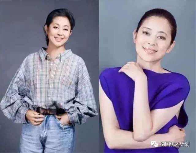 右一:倪萍 她表现出色,迅速在央视站稳脚跟, 第二年就跟赵忠祥搭档
