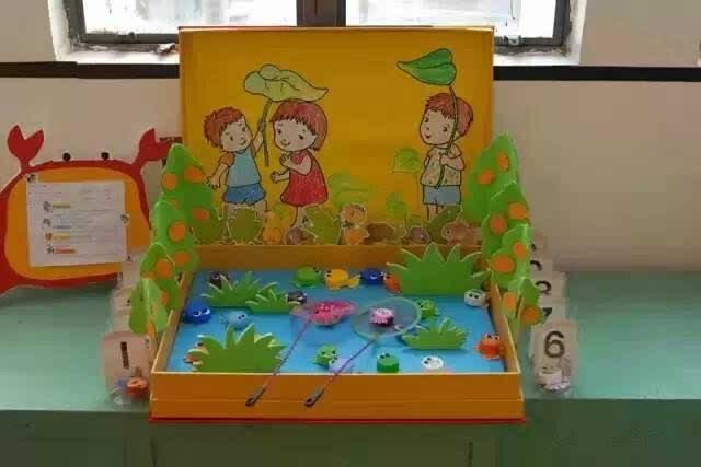幼儿园益智区手工环创大全!图片