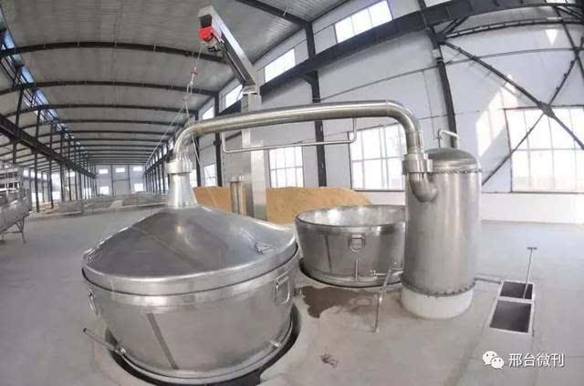 酿酒蒸锅的内部结构图