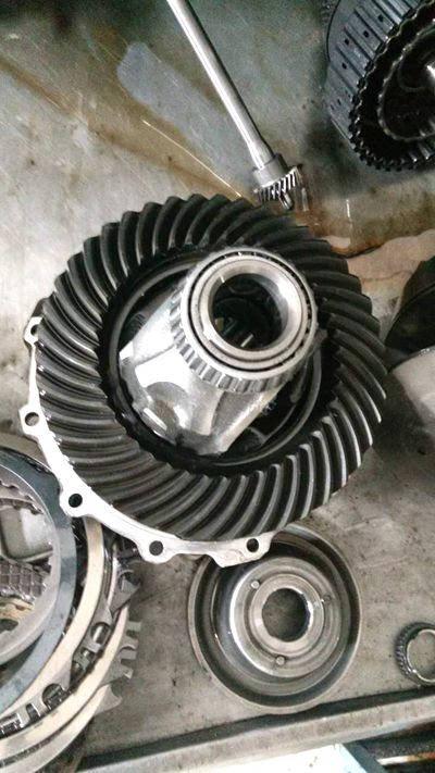 奥迪01j(cvt)无级自动变速器维修图片