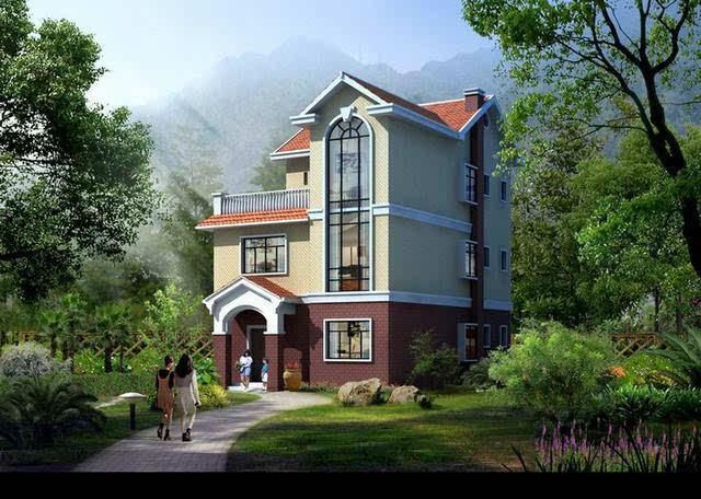 农村三层房屋设计效果图